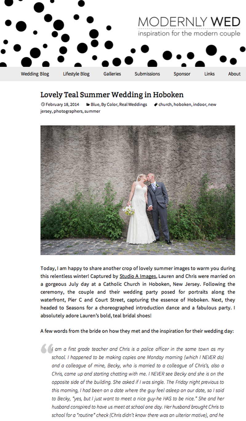 Modernly Wed - February 2014
