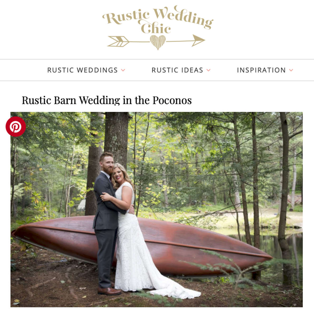 Rustic Wedding Chic - July 2019read the full post here