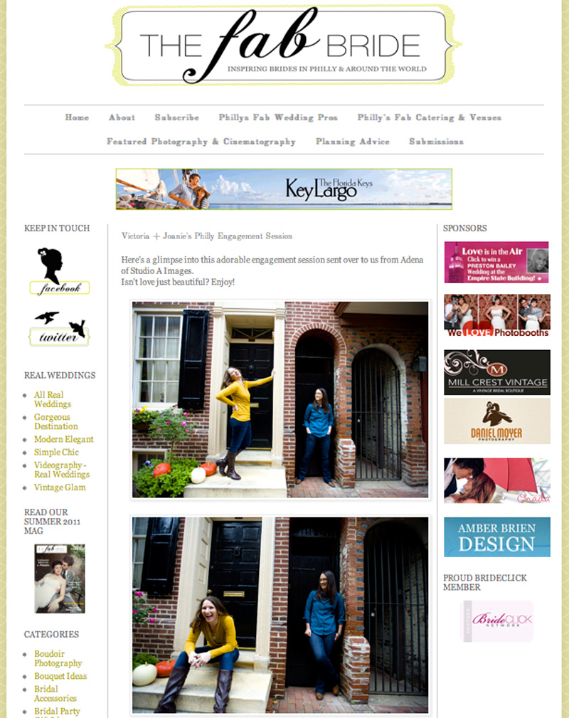 The Fab Bride - January 2013read the full post here