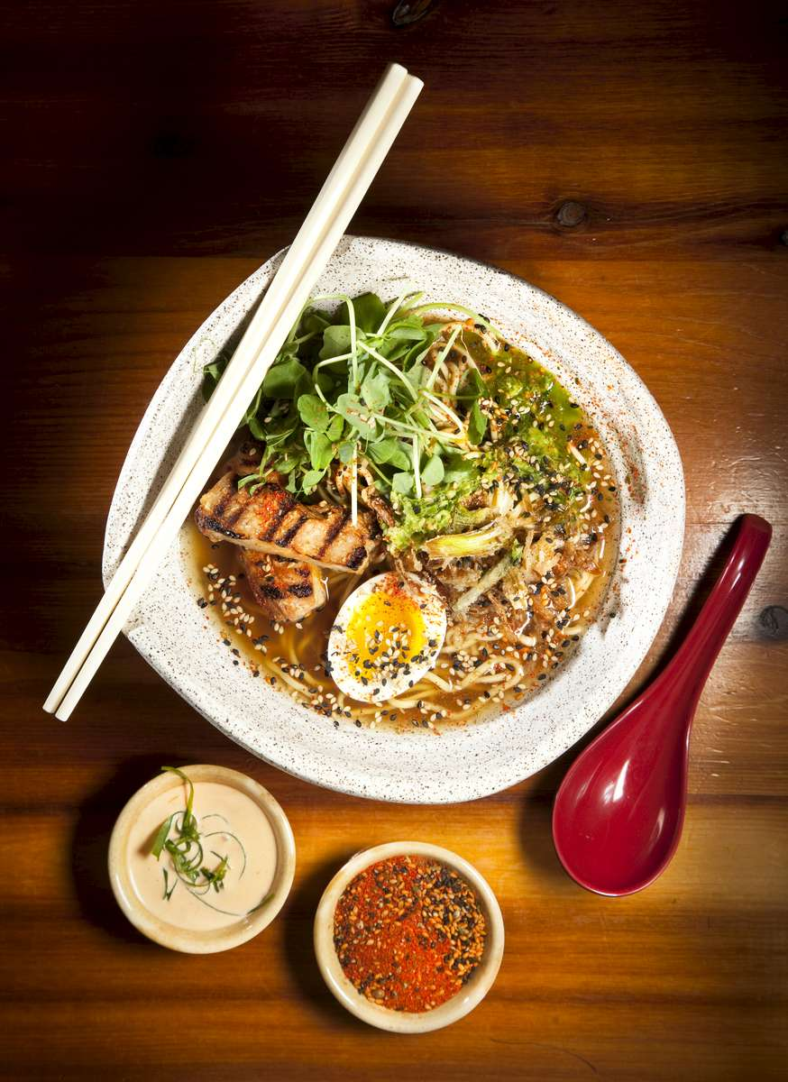 5/27/2015 - Boston, MA - This is the Tori Miso Ramen, cq, at Shojo in Boston's Chinatown. Topic: 061415Chinatown.  Dina Rudick/Globe Staff.