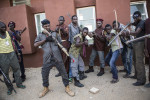 A coalition of hundreds of hunters and vigilantes are ready to use their local knowledge of the bush and the forrest to go and look for the nearly 300 kidnapped girls in Northern Nigeria. They are armed only with bows and arrows and hunting rifles, while Boko Haram is often said to be better armed than the Nigerian army.