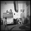 Bus station in Bamako, Mali. January 2013.