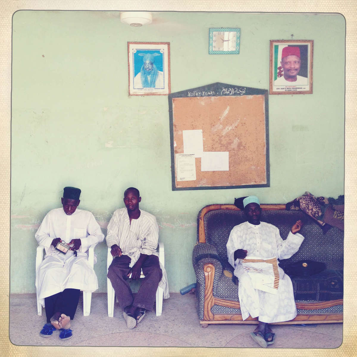 Office of the Hisbah, the Islamic Morality police, in Kano, Northern Nigeria. April 2013.