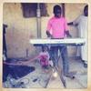 Wedding DJ. Kano, Northern Nigeria. April 2013.