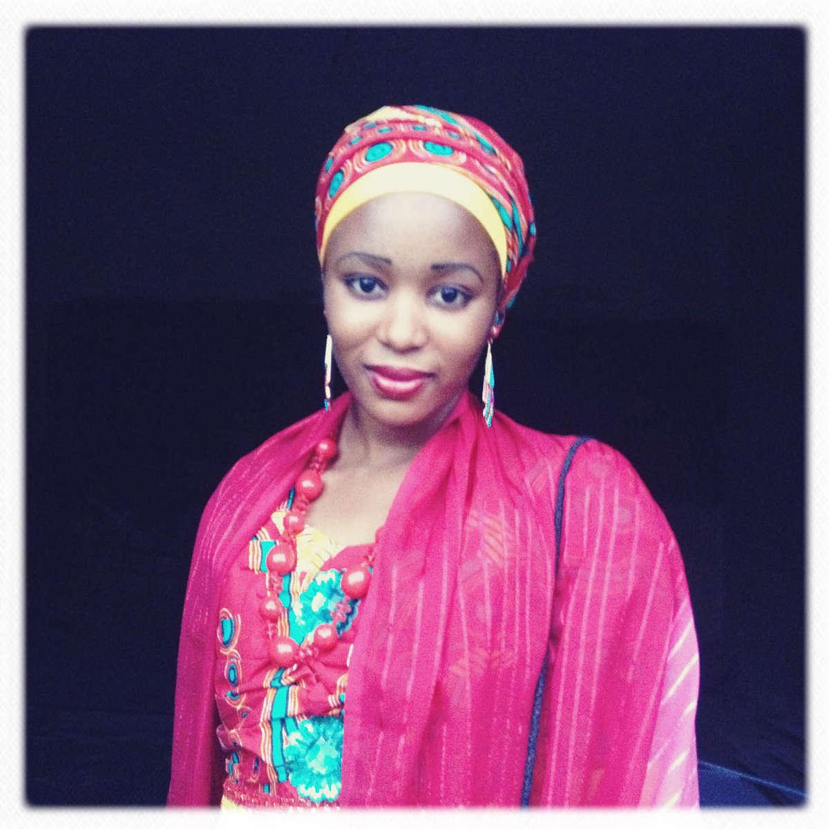 Wedding guest in Kano, Northern Nigeria. April 2013.
