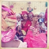 Taking the bride\'s photo at a wedding in Kano, Northern Nigeria. April 2013.