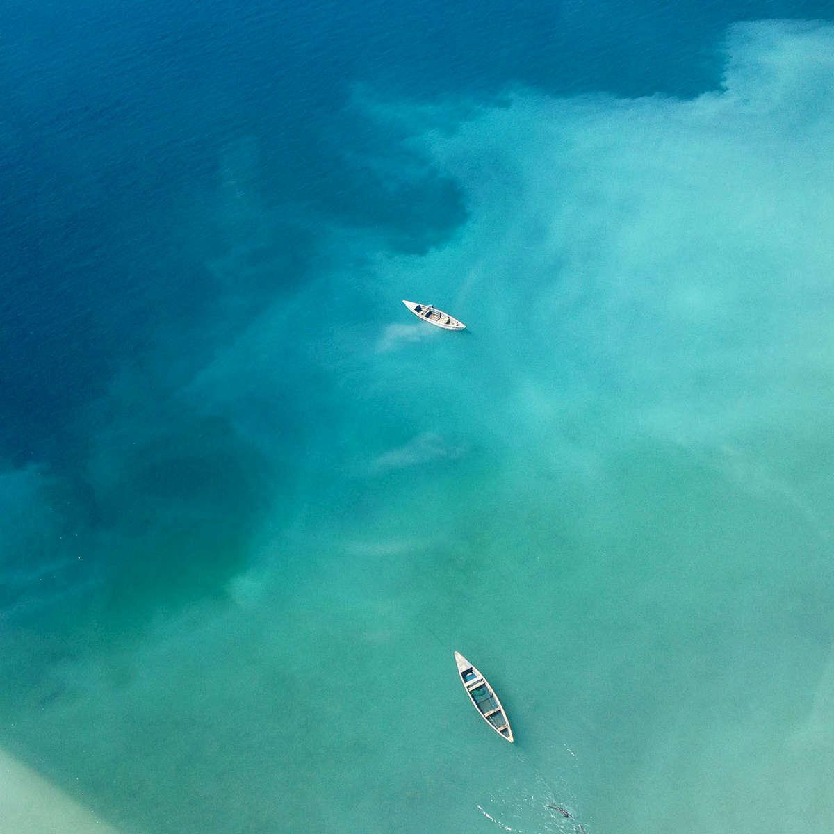 Leaving Likoma Island, Lake Malawi. May 2013.