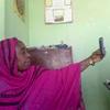 Hajiya Aisha takes a selfie. Kano, Northern Nigeria. February 2014.