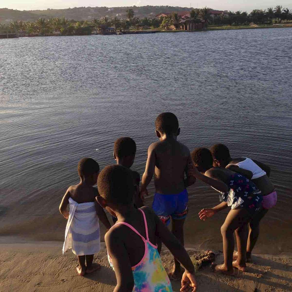 Something in the water. Bojo Beach, Accra, Ghana. May 2014.