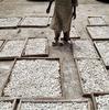 Making chalk. Kano, Nigeria. October 2013.