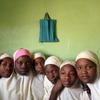 School girls in Kano, Northern Nigeria. February 2014.
