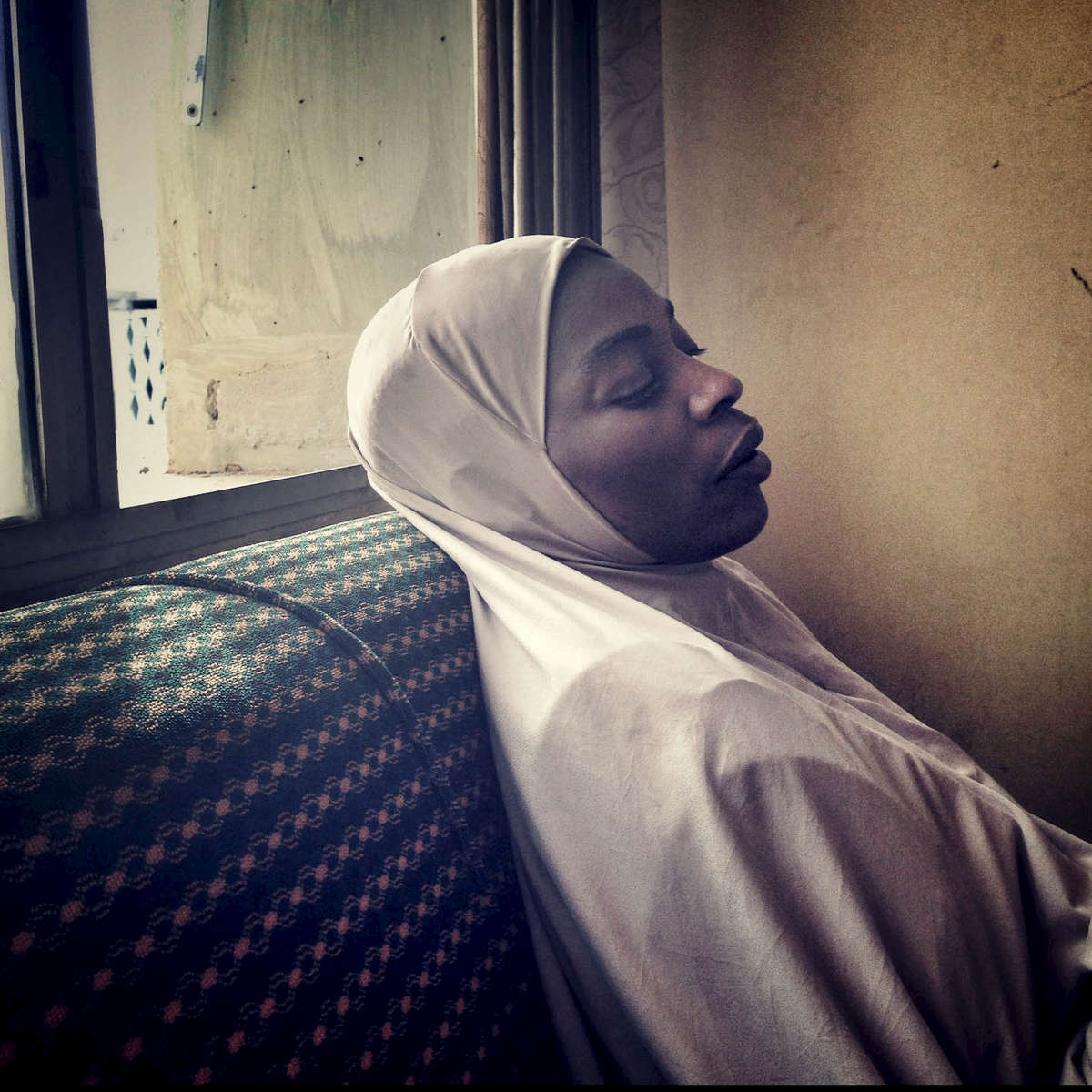 My friend Rabi. Waiting at the Ministry of Justice in Kano, Northern Nigeria. March 2014.