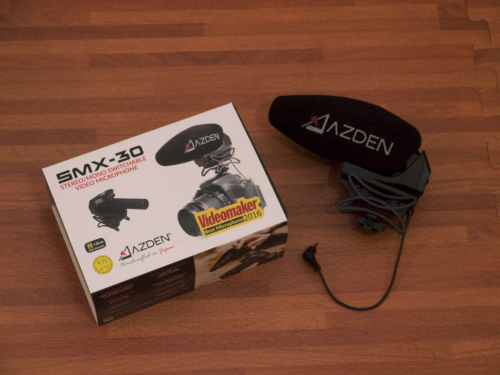 Azden SMX-30 Stereo/Mono Video Microphone