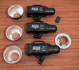Studio Strobes- 3 Dynalite Baja B 4https://www.dynalite.com/in-the-news/bajab4/
