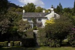 The house at Rydal Mount. Wordsworth designed the layout of the gardens. (Simon Akam for the Washington Post)