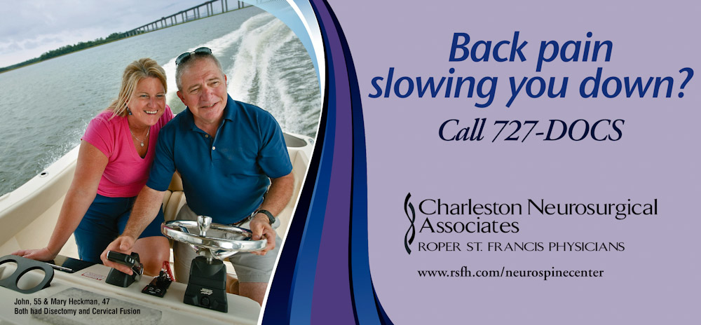 Charleston, SC billboard campaign for Roper St. Francis Healthcare.  Photo by Mic Smith Photography LLC