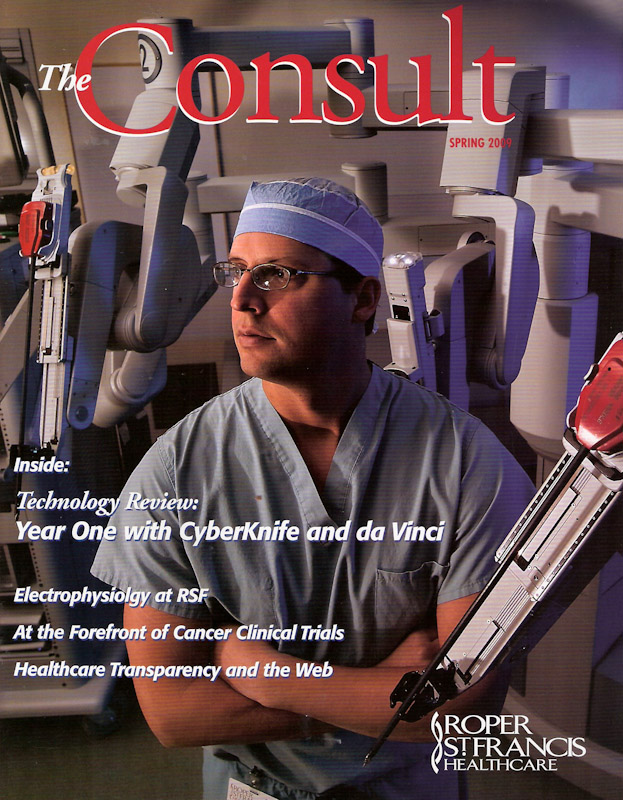 Cover of Consult Magazine.  Photo by Mic Smith Photography LLC.