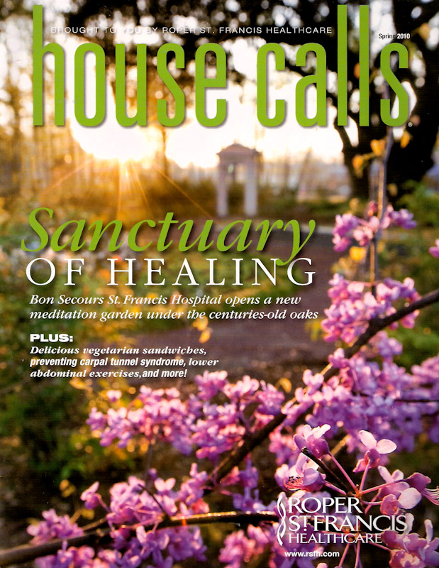 Cover of House Calls Magazine.  Photo by Mic Smith Photography LLC
