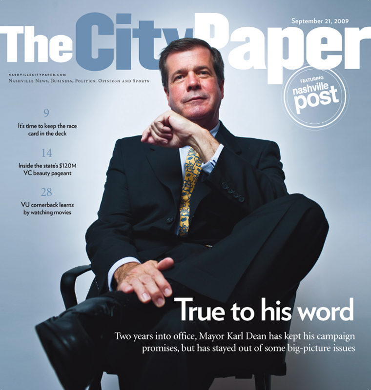 MAYOR KARL DEAN FOR THE CITY PAPER