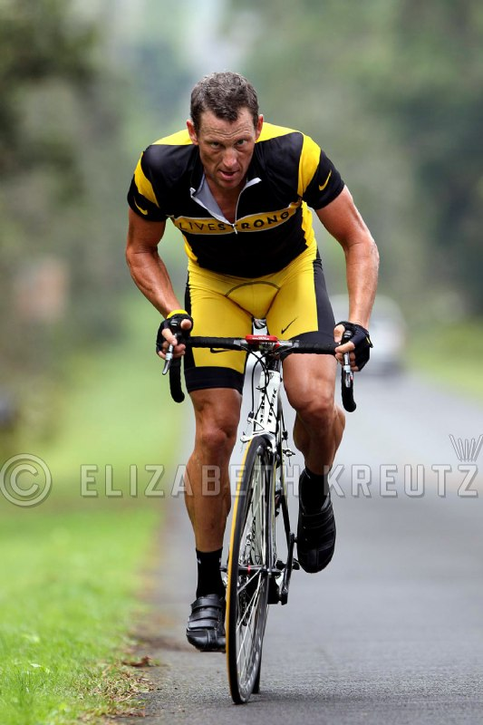lance armstrong training