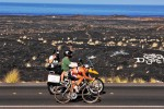 Working the female pros at Ironman Hawaii