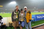 Shooting soccer with two of my favorite people/photographers...Simon Bruty (SI) and Doug Mills (NYT)