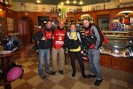 Stopping for an espresso during Milan-San Remo with the other photographers...Apparently a tradition...I love this race!