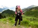 Taking in the beautiful scenery at the Giro d'Italia