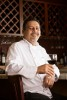 Chef Victor Gonzalez poses for a portrait at his restaurant, Traitoria D'Urbino.