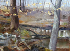 oil on board 12{quote} x 16{quote}   $ 900.00
