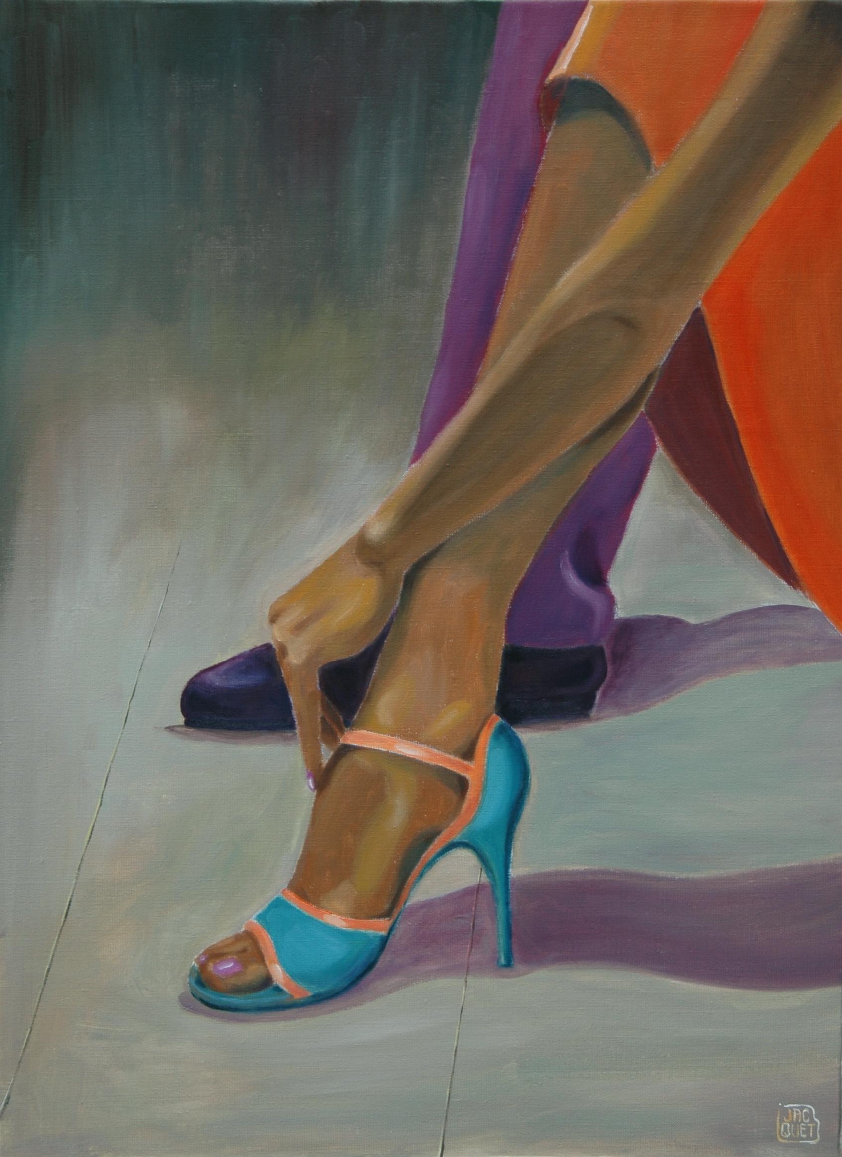 Passage obligé #2oil on canvas