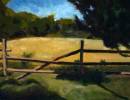 John St, Greenwich, CT   $ 900.00Oil on board 9{quote} x 12{quote}