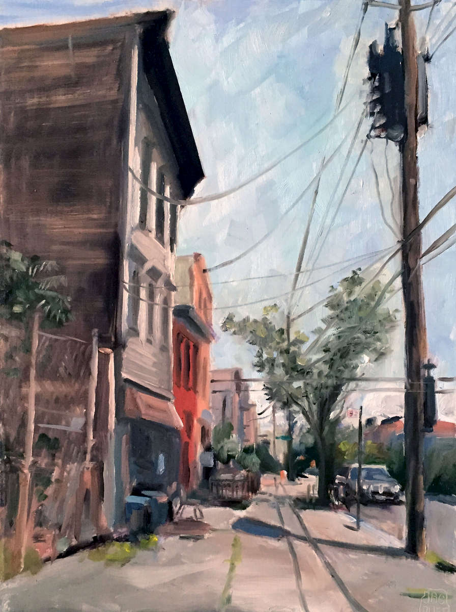 oil on board 16{quote} x 12{quote}   NFSPart of the June 2015 {quote}Where In the World Is Plein Air?{quote}