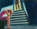 Escalier dérobé