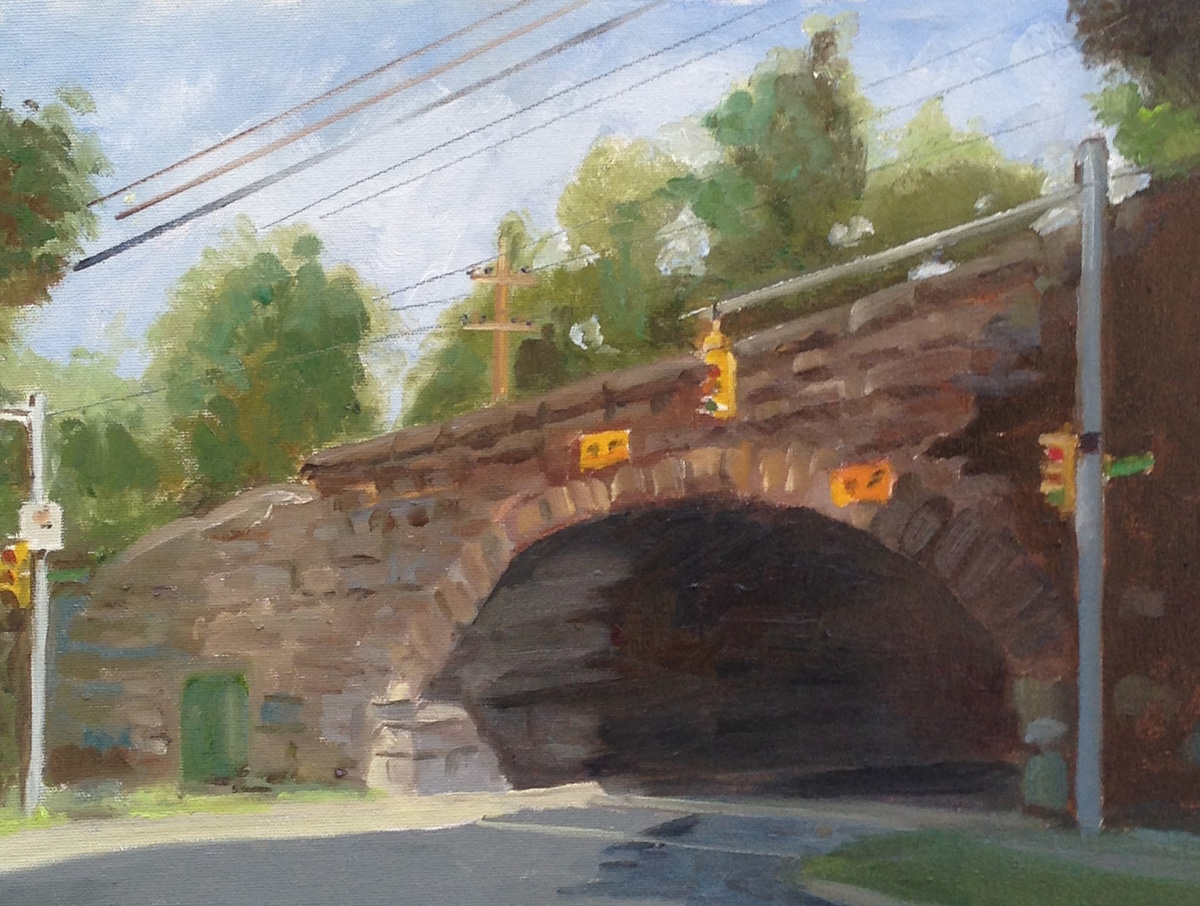 oil on board 12{quote} x 16{quote}   $ 1,200.00 (Framed)Honorable Mention Connecticut Plein Air Painters AssociTION 2014