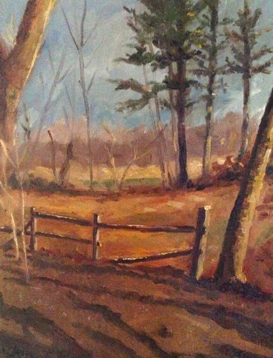 oil on board 16{quote} x 12{quote}   $ 1,100.00