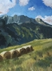 16{quote} x 12{quote} oil on board    $ 1,200.00St Véran at 1850 m is the highest village in Europe
