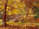 Petit Pont, Greenwich CT  SOLDJune 2014oil on board 9{quote} x 12{quote}