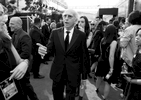 Larry David arrives at the 68th Primetime Emmy Awards on Sunday, Sept. 18, 2016, at the Microsoft Theater in Los Angeles. (Photo by Matt Sayles/Invision for the Television Academy/AP Images)