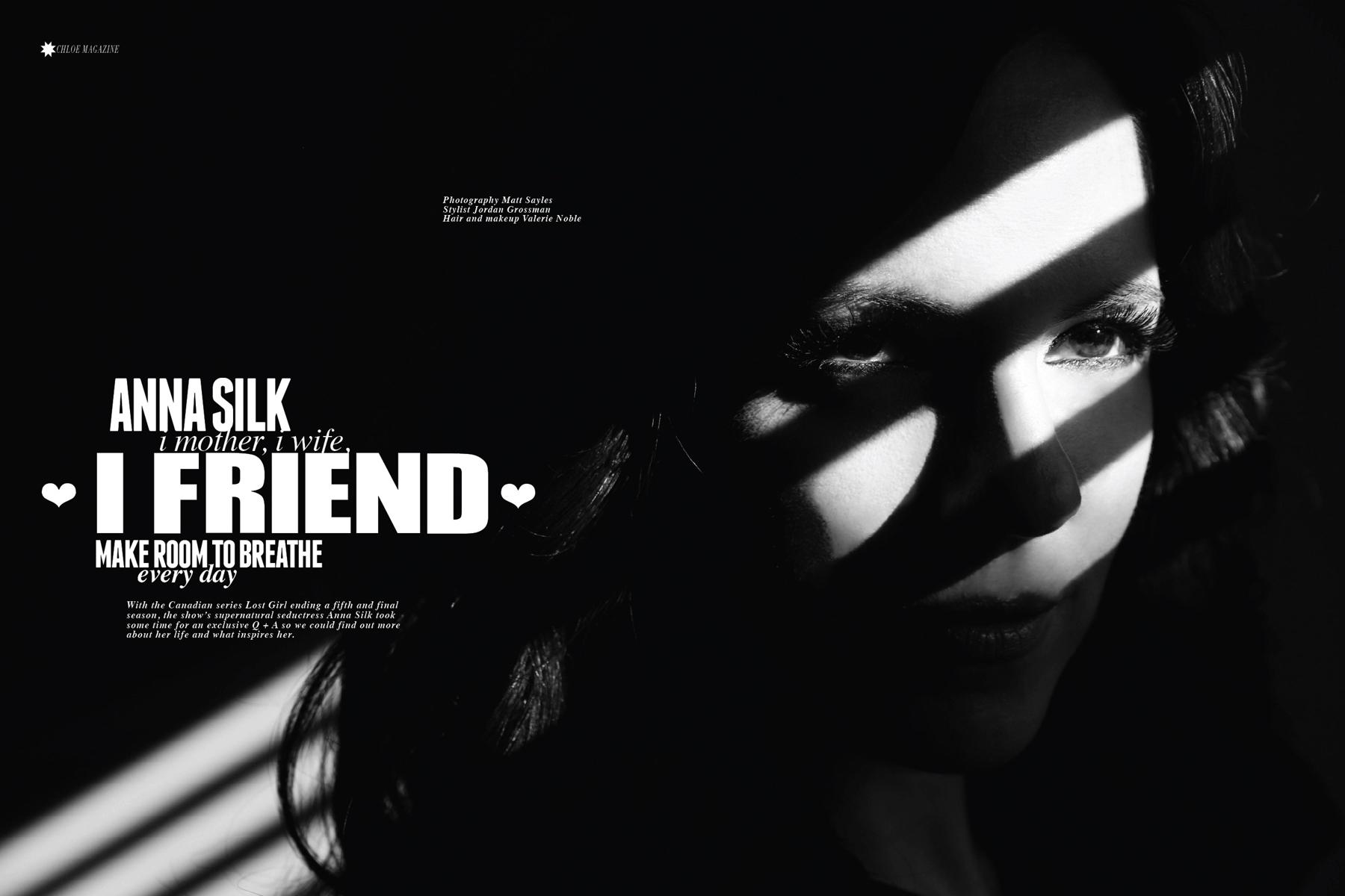Anna Silk | Chloe Magazine