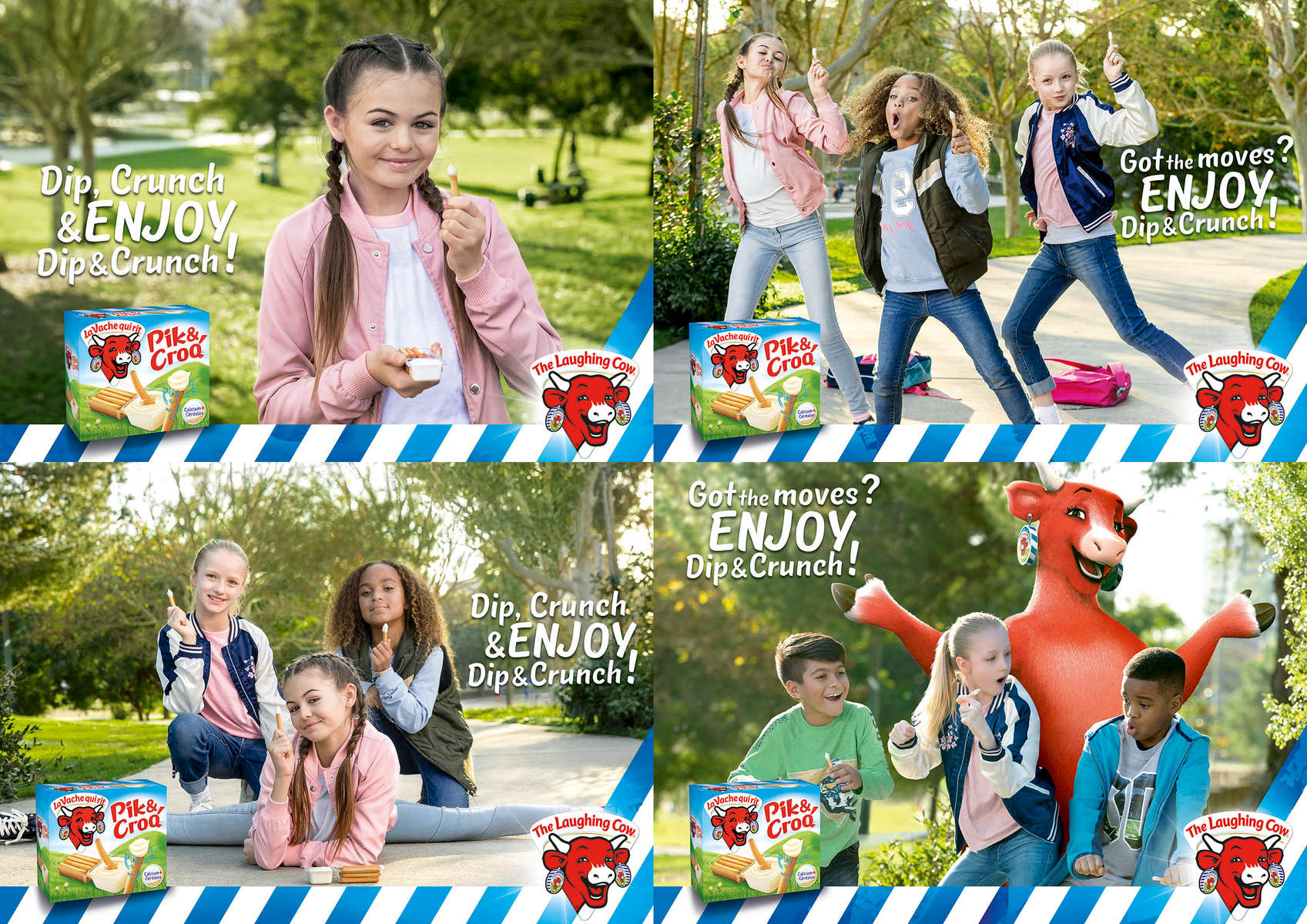 Laughing Cow International Campaign | Agency - Young and Rubican France