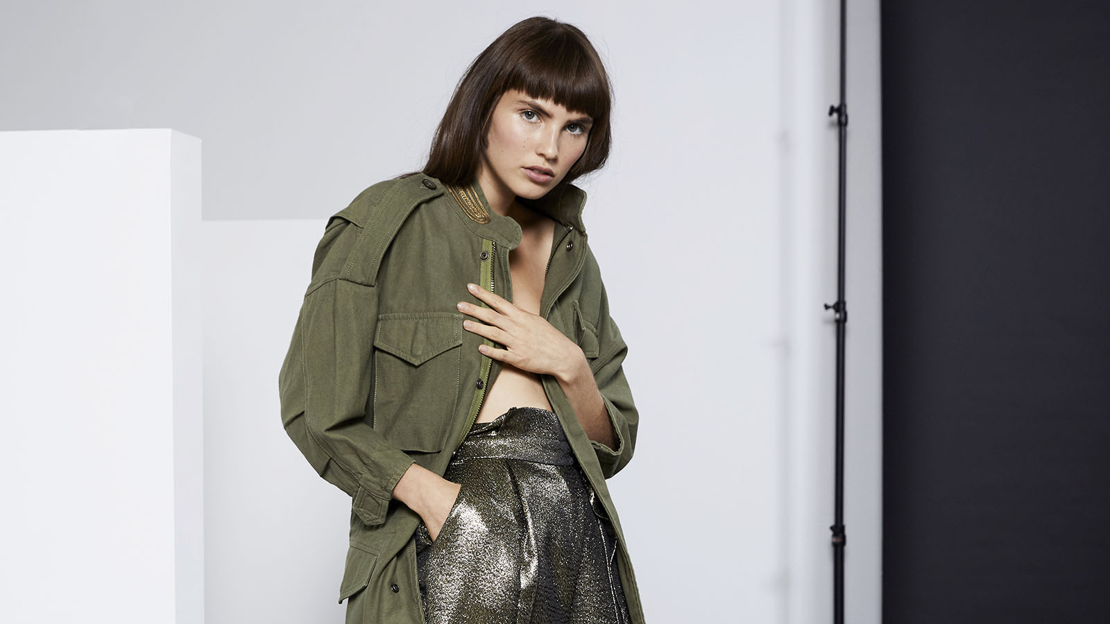 Lenon Collection LookbookModel - Angelina JessonHair / Makeup - Barbara Yniguez