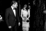 Leonardo DiCaprio, left, and Emma Stone, winner of the award for best actress in a leading role for {quote}La La Land{quote}, appear backstage at the Oscars on Sunday, Feb. 26, 2017, at the Dolby Theatre in Los Angeles. (Photo by Matt Sayles/Invision/AP)