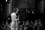 """Emma Stone accepts the award for best actress in a leading role for """"La La Land"""" at the Oscars on Sunday, Feb. 26, 2017, at the Dolby Theatre in Los Angeles. (Photo by Matt Sayles/Invision/AP)"""