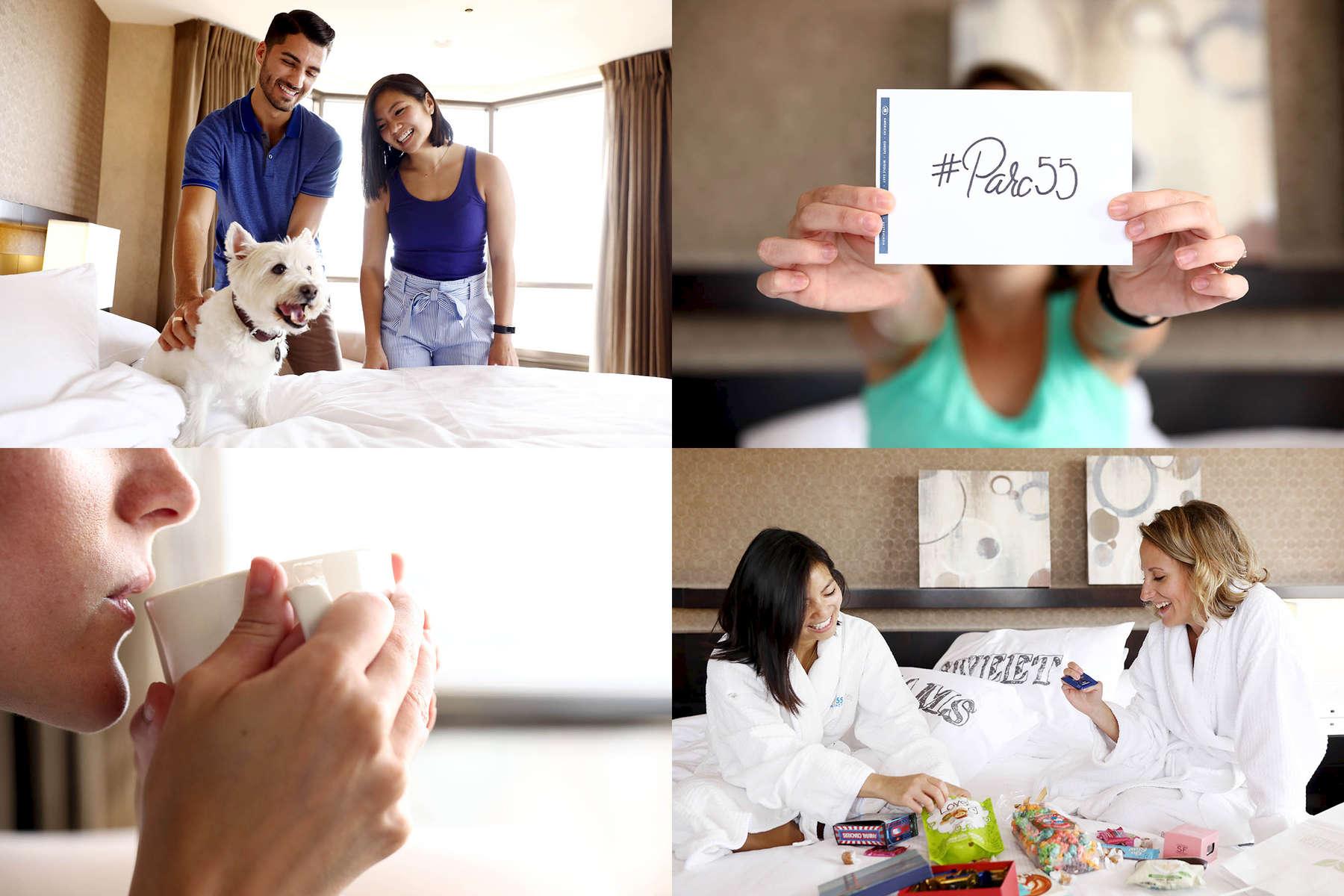 Hilton Parc 55 Social Campaign | Agency - Under the Influencers