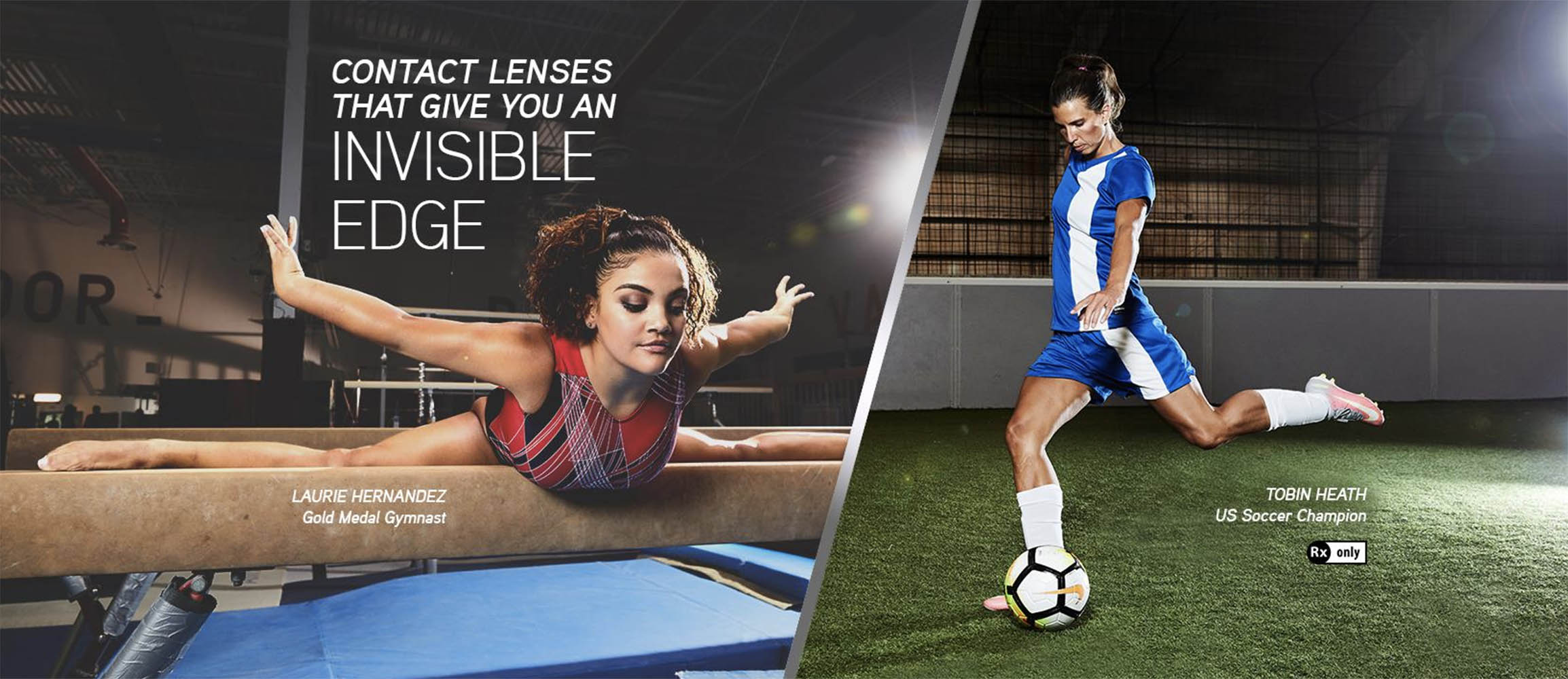 Alcon Dailies Contact Lenses Invisible Edge Campaign