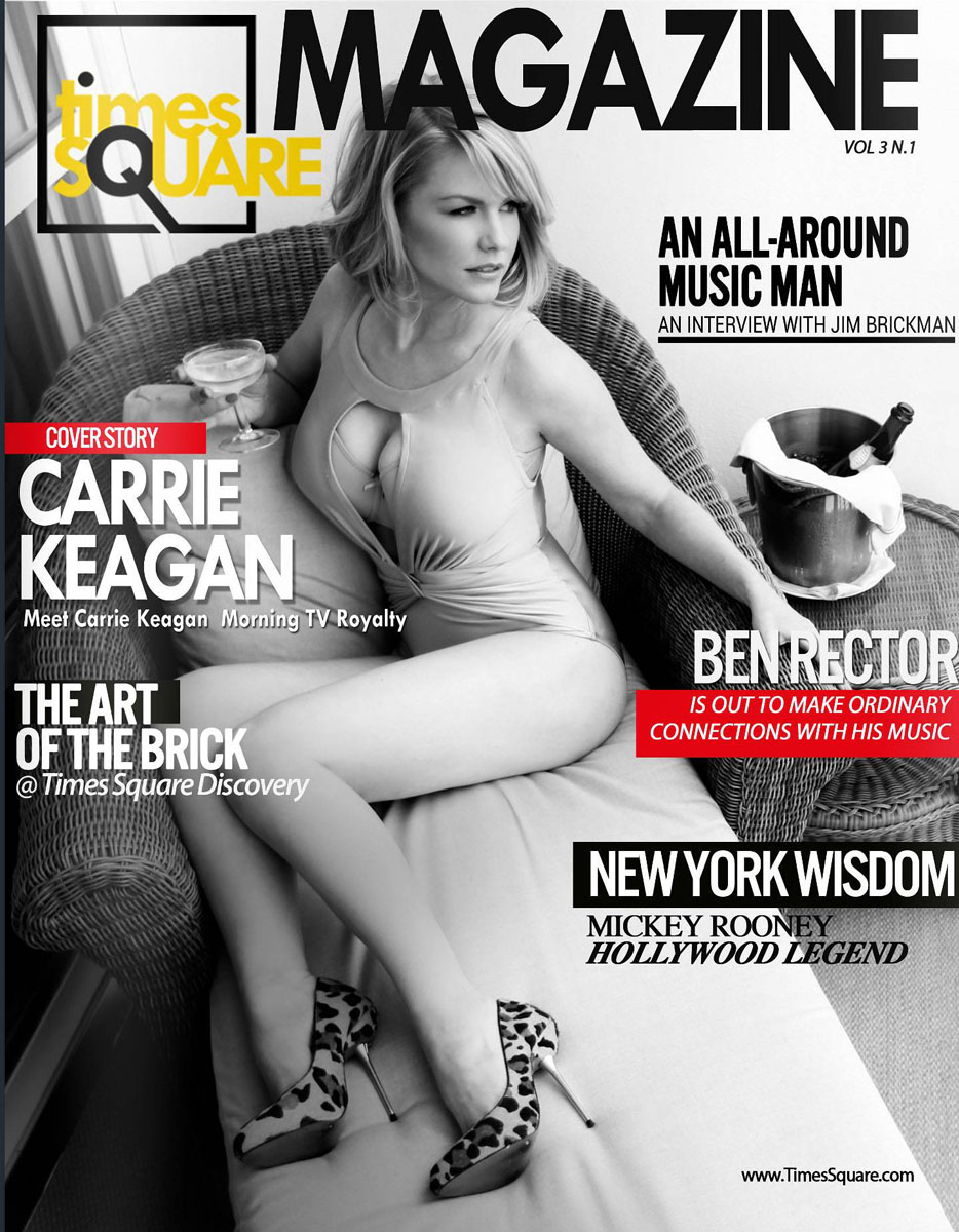 Carrie Keagan | Times Squsre Magazine