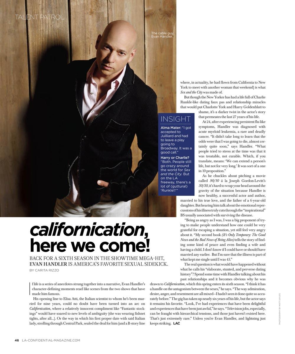 Evan Handler | LA Confidential