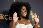 Uzo Aduba attends the 69th Primetime Emmy Awards on Sunday, Sept. 17, 2017, at the Microsoft Theater in Los Angeles. (Photo by Matt Sayles/Invision for the Television Academy/AP Images)