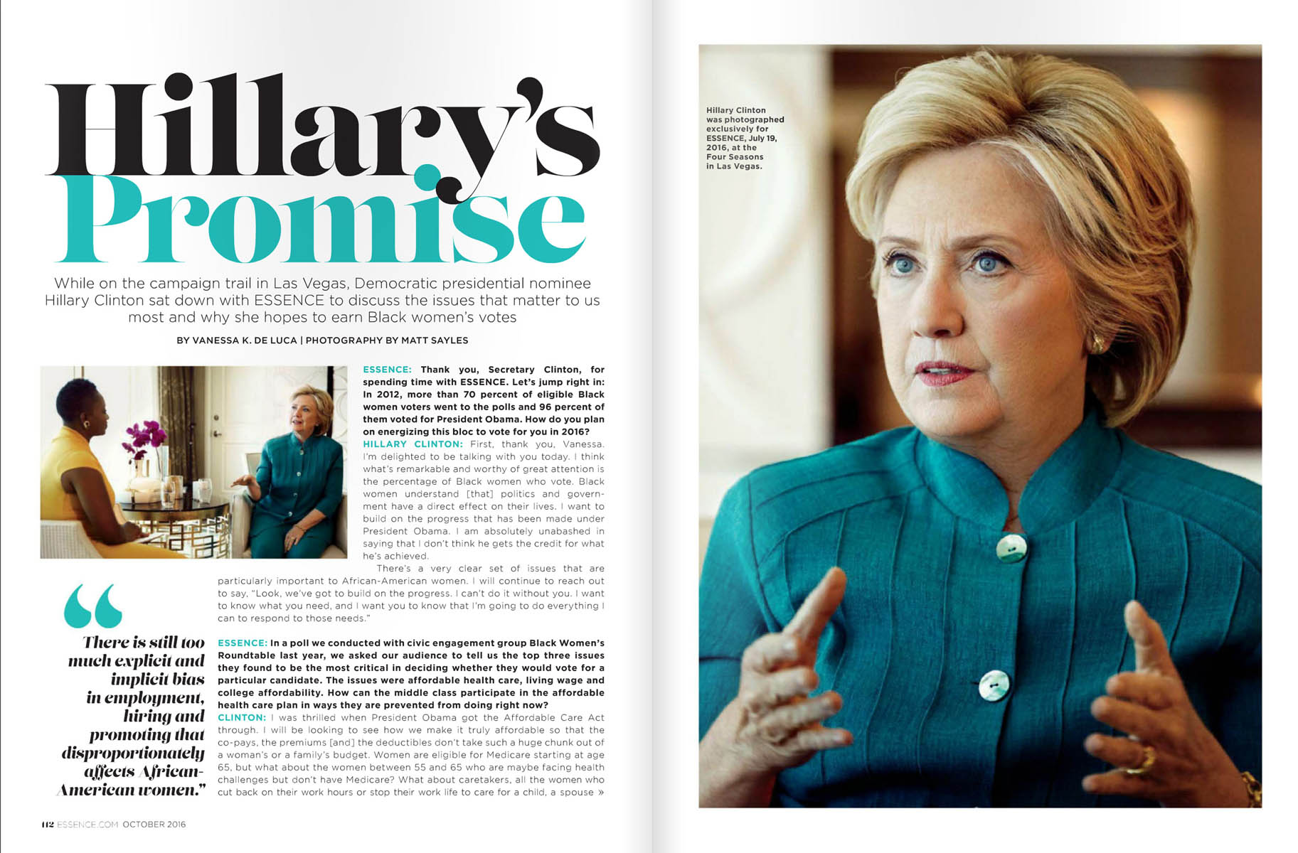 Hilary Clinton | Essence